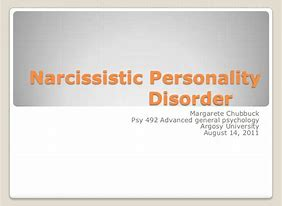 Narcissistic personality disorder and sexual addiction