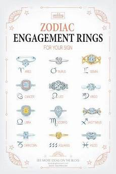 engagement rings zodiac signs best zodiac engagement rings for your sign wedding forward