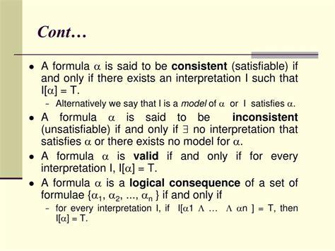Predicate Logic Symbols