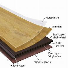 Vinyl Klick Laminat Günstig - klick vinyl laminat office jura eiche ns 0 3 mm nk 23 31