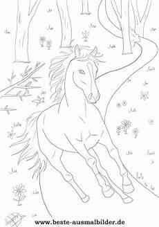 Pferde Ausmalbilder Ostwind Ausmalbild Pferd Wald Malen Ausmalbilder