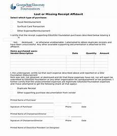 free 6 lost receipt forms in pdf ms word excel