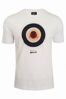 mens ben sherman keith moon t shirt target print eon
