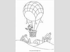 heissluftballon 3 gratis Malvorlage in Flugzeuge