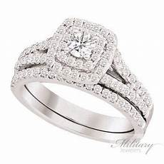 finance this stunning double halo certified diamond bridal with no money down call military