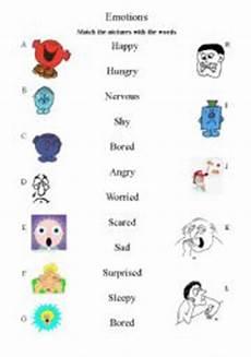 emotions matching worksheet emotions matching worksheet esl worksheet by soote