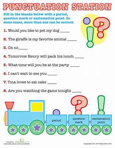 punctuation worksheets for grade 1 with answers 20770 the power of punctuation education