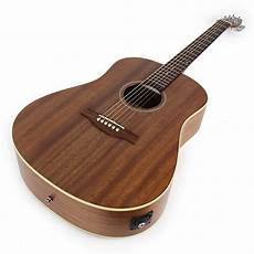 seagull s6 mahogany seagull s6 mahogany deluxe sg acoustic electric guitar with reverb