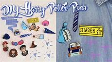 Diy Harry Potter Pins