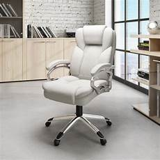 home depot office furniture corliving workspace executive office chair in white
