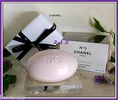 chanel no 5 bath soap seife mit glas seifenschale 200