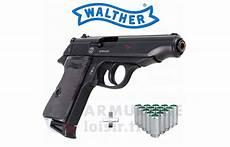 pistolet à blanc pack pistolet 224 blanc walther pp noir 9mm pak armurerie loisir