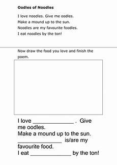 poetry worksheets for year 8 25285 poem worksheets teaching resources