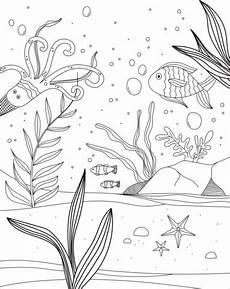 unterwasserwelt malvorlage kostenlos ausmalbild unterwasserwelt ausmalbilder kostenlos zum