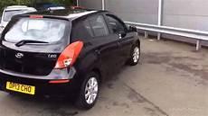 Hyundai I20 Schwarz - hyundai i20 active black 2013