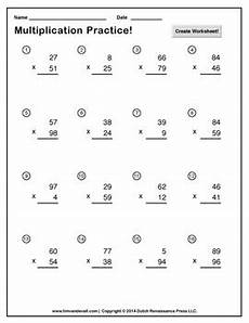 double digit multiplication worksheet maker create infinite math worksheets