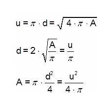 kreis berechnen flaeche durchmesser umfang kreis volumen