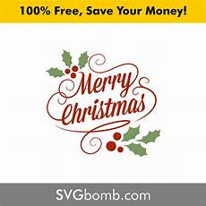 merry christmas classic vintage svg and vector svgbomb com