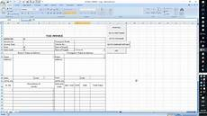 gst bill excel sheet format automatic work youtube