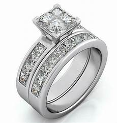 14k white gold 925 sterling silver diamond cut