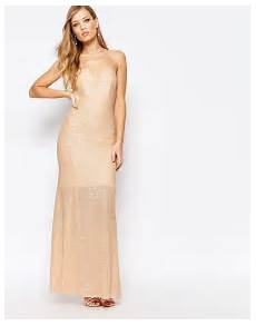 Premium Showstopper Embellished Maxi critics choice award winner kirsten dunst sparkles in