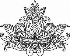 mandalas zum ausmalen mandala vintage pattern coloring