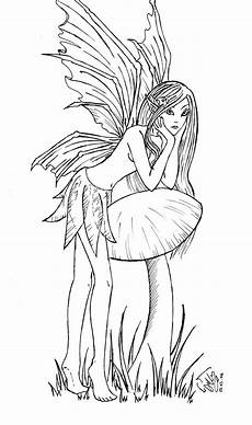 Ausmalbilder Elfen Und Drachen Vorlagen Malen Fee Marvel Zeichnungen