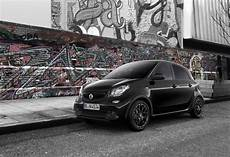 smart fortwo forfour black and white edition price range