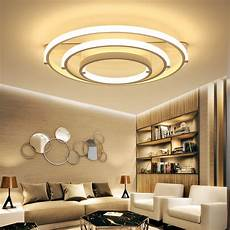 Große Deckenlen Design - wei 223 led decken leuchte led ring lustre licht gro 223 e flush