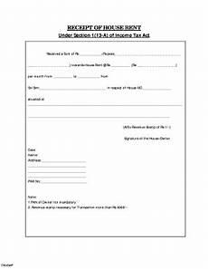 house rent receipt format pdf fill online printable fillable blank pdffiller