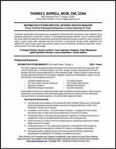 technical resume sle