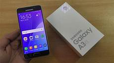 samsung galaxy a3 2016 unboxing setup look