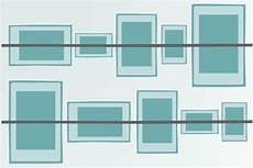bilder in einer reihe aufhängen bilder aufh 228 ngen anordnung leicht gemacht anleitung