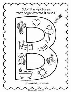 phonics worksheets letter b 24452 lively literacy letter sound of the week phonics