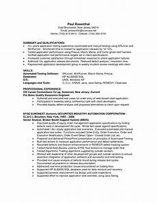 qa analyst resume printable planner template