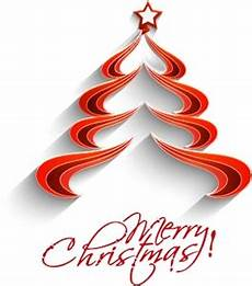 cute merry christmas tree logo vector ai free download