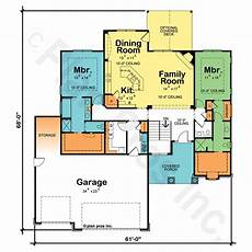 house plans with two master suites dual master suite home plans plougonver com