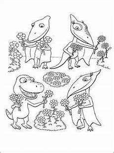 dinosaurier zug ausmalbilder zum ausdrucken