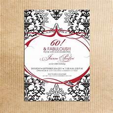 60th birthday invitations for