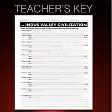 indus valley harappa civilization informational text worksheet tpt