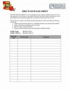 fire watch log sheet fillable online sfm dps louisiana sfm dps louisiana fax email print pdffiller