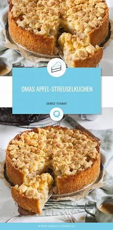 Omas Apfelstreuselkuchen Rezept Apfelkuchen Apple