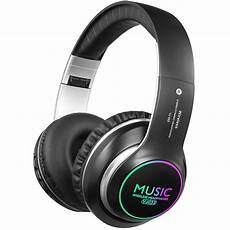 Vj033 Foldable Wireless Bluetooth Stereo Headphone by Wireless Bluetooth Headphones Ear Headphones With