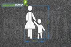 Quot Frauenparkplatz Quot Boden Und Wandmarkierungs Schablone