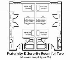 fraternity house plans fraternity sorority housing