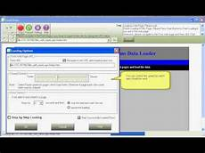 html forms data loader video tutorial youtube