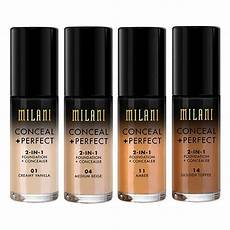 Les Meilleurs Fond De Teint Milani Conceal And 2 In 1 Foundation And Concealer