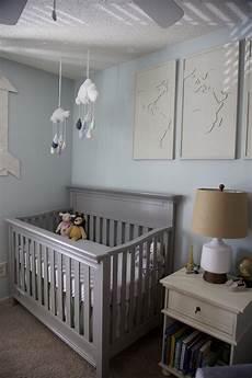 Kinderzimmer Blau Grau - gender neutral nursery reveal currently kelsie