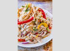 cold thai pasta salad_image