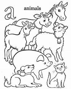 Malvorlagen Bauernhof Word Bauernhof Alphabet Malvorlagen 3738 Animalitos Para